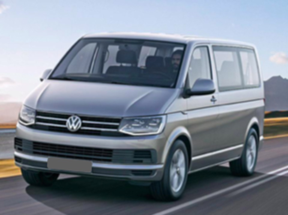 Van, 5 to 8 adults traveling