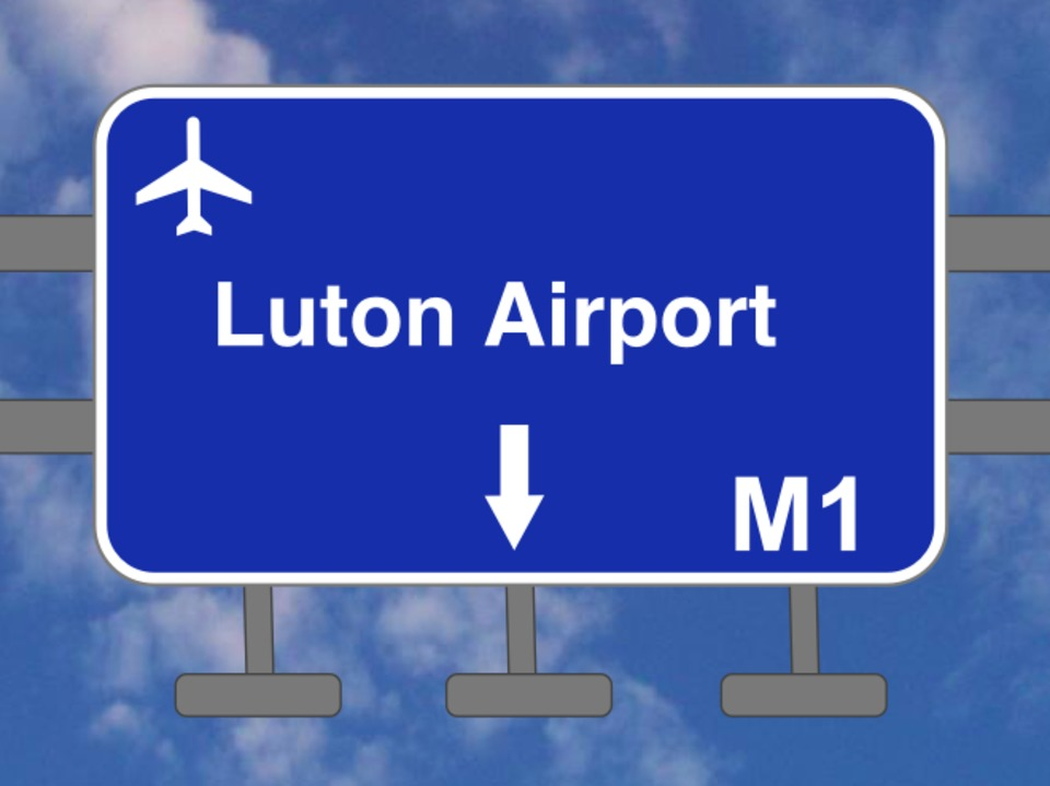 London to Luton Airport