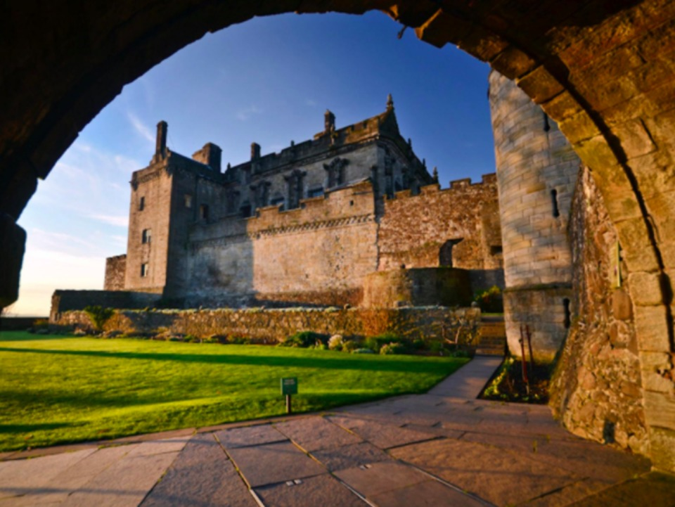 Stirling Castle in Stirling Scotland